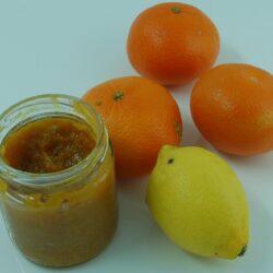 Mandarinen-Zitronen-Konfit
