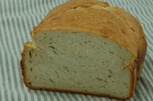Weißbrot mit Weizensauerteig, einfach lecker