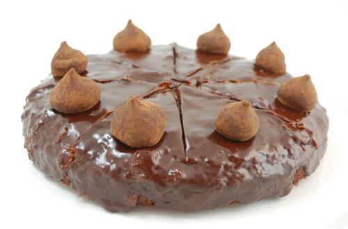 Schokoladenkuchen mit Zitrusnote