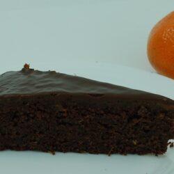 Schokoladenkuchen mit Mandarinen-Zitronen-Konfit