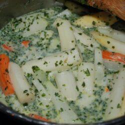 Spargel-Karotten-Kohlrabi-Gemüse