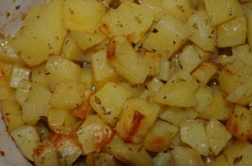 Kräuter-Knoblauch-Kartoffeln